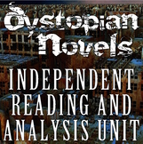 Dystopian Novels Independent Reading & Analysis Unit (AP L