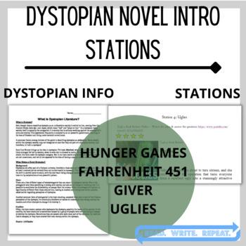 Dystopian Novels Introduction (Hunger Games, Fahrenheit, G