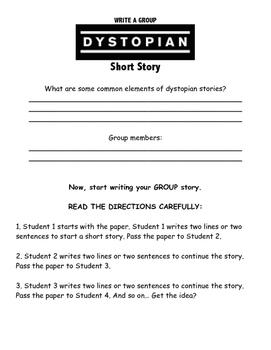 Dystopian Short Story