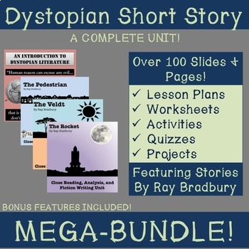 Dystopian Short Story Unit MEGA-BUNDLE: CCSS Aligned!