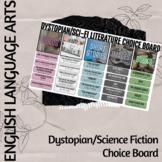 Dystopian and Sci-Fi Choice Board