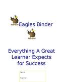 E.A.G.L.E Binder Cover
