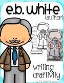 "E.B. White ""Craftivity"" Writing page (Author of Charlotte's Web/Stuart Little)"