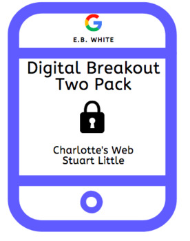 E.B. White Digital Breakout Escape Room Two Pack
