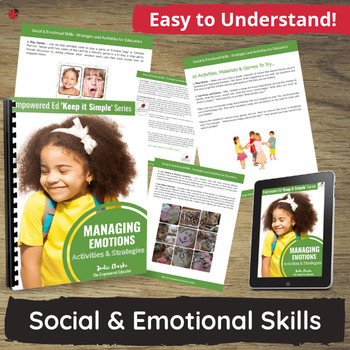 E-Book - Planning Activities & Tips to help children manage emotions.