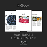 E-Book Template: Fresh