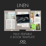 E-Book Template: Linen