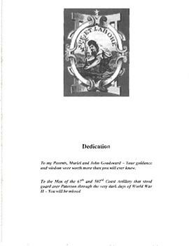 "E-Book  World War II ""The World War II Defense of Paterson New Jersey"""