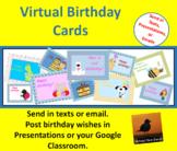 E-Cards - Happy Birthday Set