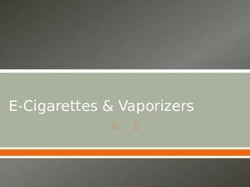 E-Cigarettes and Vaporizers - Tobacco