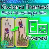 E = EVEREST {Kiwiana Themed 'Make & Take' Alphabet Set}