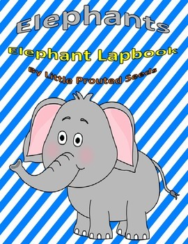 E Elephant Lapbook