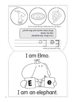 E: Elmo, the Elephant