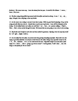 E-Error / Easy Spelling Errors Test or Quiz