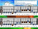 E-G-A and B-A-G-E-D Recorder Song Power Points