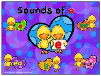 Long Vowels- Sounds of e