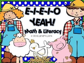E-I-E-I-O-Yeah! Math & Literacy Farm Pack