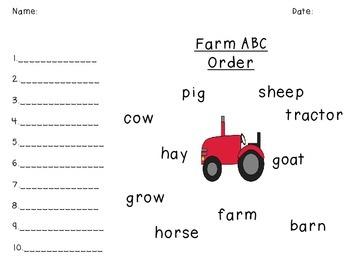 E-I-E-I-oh! On the Farm Unit