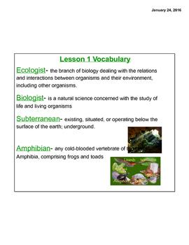 E.L Grade 5 Module 1 Unit 2 Lessons 1-8