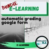 E-LEARNING Google Form Growing Bundle