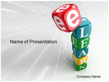 E LEARNING POWERPOINT TEMPLATE