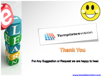 E Learning PPT Template