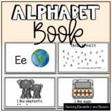 Alphabet Books: Letter E and Activities Freebie