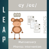 EY - Long E - No Prep Phonics