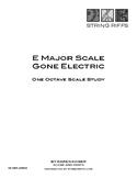 E Major Scale Gone Electric