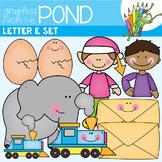 Letter E Clipart Set