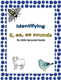"""The long and short Sounds of """"E"""" Worksheets"""