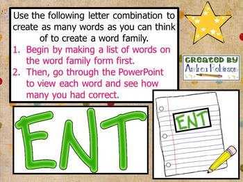 """E"" Word Family Bundle"