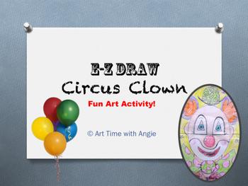 E-Z Draw Circus Clown