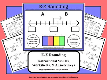 E-Z Rounding - Instructional Resources and Practice Materials