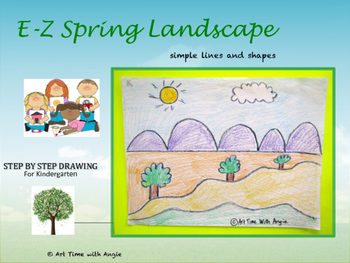 E-Z Spring Landscape Art Activity