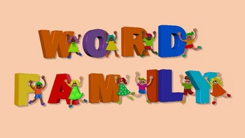 E and I Word Family Spinner Activity