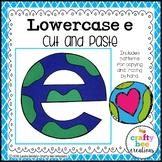 Letter E Craft {Earth}