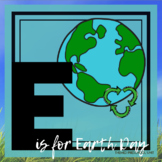 E is for Earth Day Themed Unit-Preschool Lesson Plans and Activities (one week)