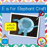 E is for Elephant Craft