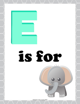 E is for Elephant Learning Pack