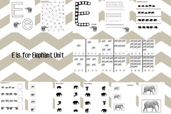 E is for Elephant Unit