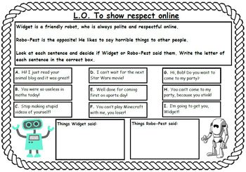 E-safety Activities Workbook For Grades 1 & 2