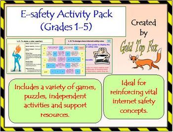 E-safety activity pack for Grades 1-5