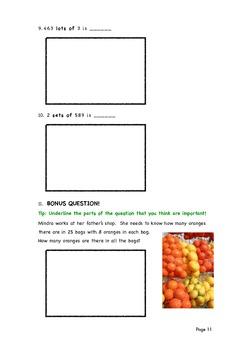 E2-E3 Maths (multiplication)