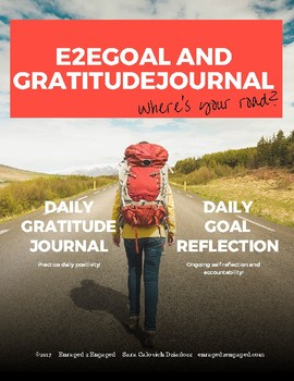 E2E 36-Week Goal and Gratitude Journal