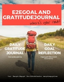E2E 36-Week Goal and Gratitude Journal