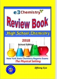 E3 Chemistry Review Book 2018: School Edition (ISBN: ISBN-10: 1978362293)