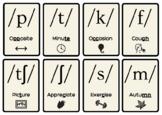 E3 Functional Skills English 24X Phonics Flash Cards - Spelling / Reading
