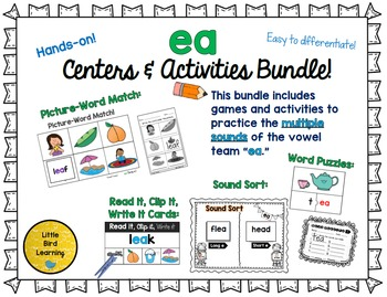 EA Centers and Activities Bundle