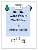 EA-EW WORD FAMILY ACTIVITIES